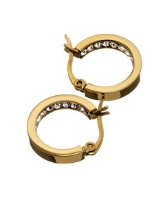 Monaco Earrings Mini Gold