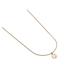 Zodiac Glam Necklace - Libra