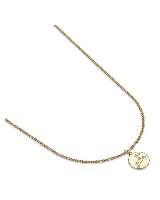 pfgSTOCKHOLM Zodiac Glam Necklace - Leo