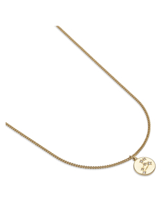 Zodiac Glam Necklace -leo