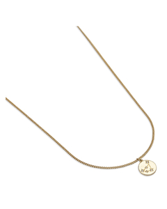 Zodiac Glam Necklace -pisces