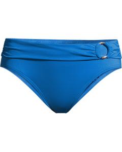 Bikiniunderdel Med Kant-blå
