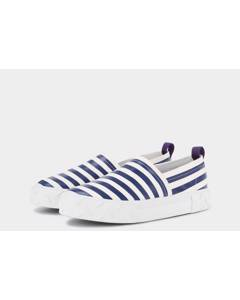 Viper S-o Canvas Mm White / Midnight Stripe