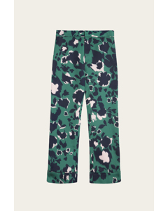 Franca Pants Shadow Garden Green