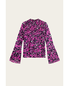 Donna Blouse Shadow Garden Pink