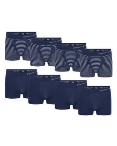 Pierre Cardin 8-Pack Seamless Boxers Blau