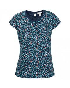 Trespass Damen T-Shirt Charlene mit Blumenmuster und Flügelärmeln