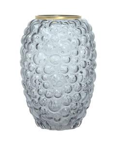 Glass Vase Sidney 225 grey