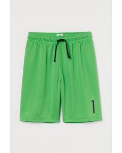 Fotbollsshorts Grön/svart