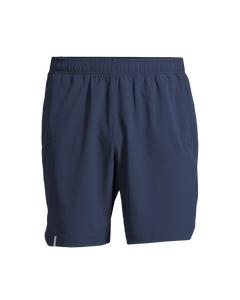 M Long Shorts Pushing Blue