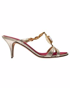Ethnic Heeled Sandals