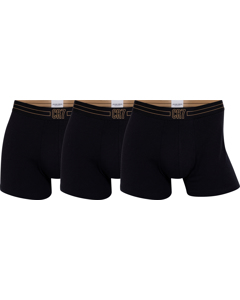 Cr7 Basic Trunk, 3-pack Black/black/black