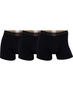Cr7 Basic Trunk, 3-pack Black/black/black