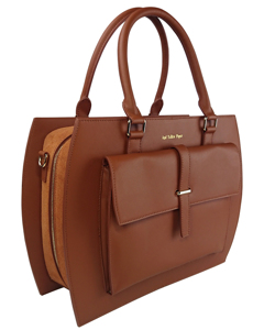 Ayp Business Bag Brown