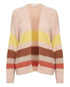 Knit Cardigan Crystal Rose