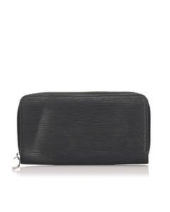 Louis Vuitton Epi Zippy Wallet Black