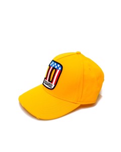 Dsquared2 Yellow Patch Baseball Cap