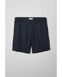 Mash Linen Shorts Blue