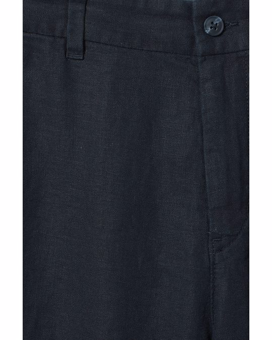 Weekday Mash Linen Shorts Blue