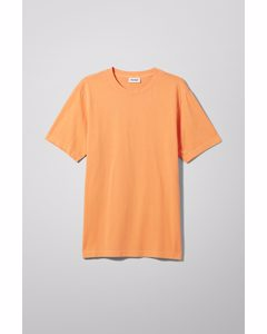 Frank Washed T-shirt Light Orange