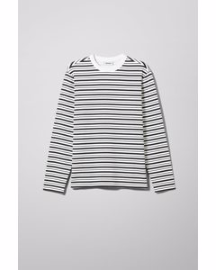 Christian Striped Longsleeve White