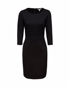 Dress Knitted Mini Black
