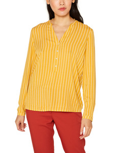 Blouse Woven Long Sleeve Honey Yellow