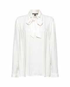 Blouse Woven Long Sleeve Off White