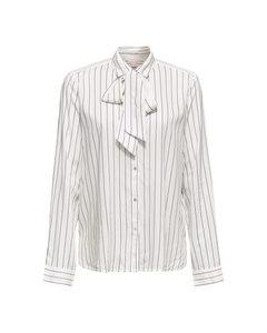 Blouse Woven Long Sleeve Off White