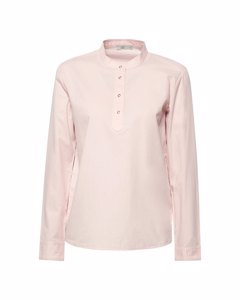 Blouse Woven Long Sleeve Old Pink
