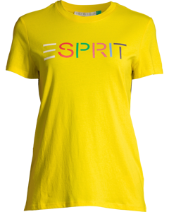 T-shirt Short Sleeve Bright Yellow