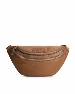 Nylon Bum Bag Brown