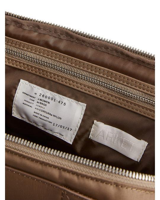 Arket Nylon Camera Bag Beige