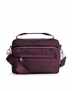 Nylon Camera Bag Red