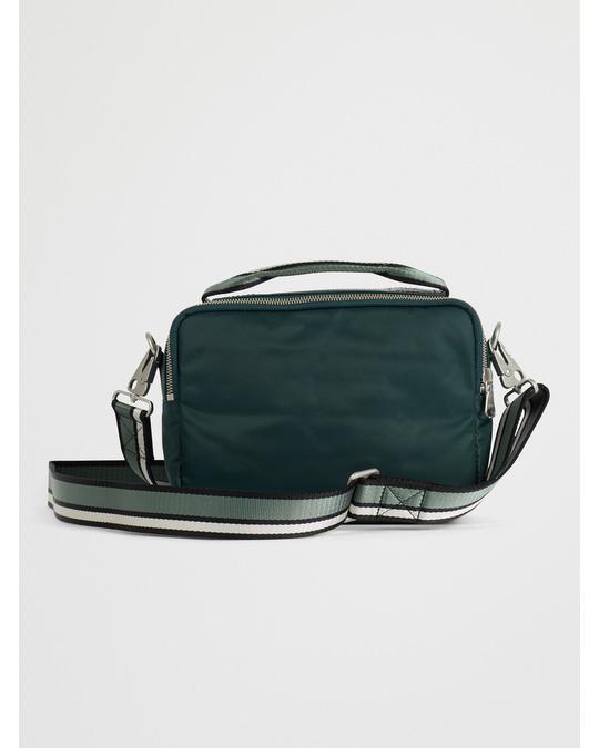 Arket Nylon Camera Bag Dark Green