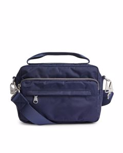 Nylon Camera Bag Blue