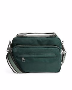 Nylon Camera Bag Dark Green