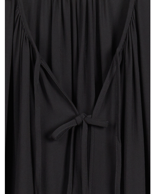 Arket Crepe  Dress Black