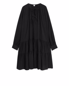 Crepe  Dress Black