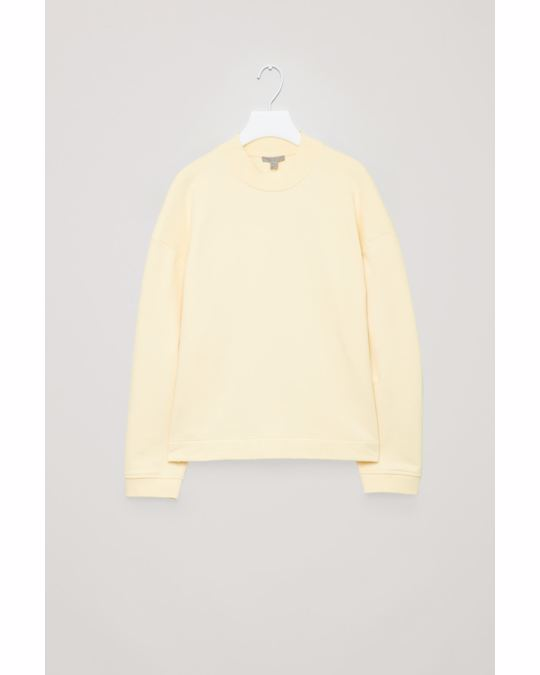 COS Ladies Airborne Recycled Sweat Yellow