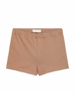 Jersey Shorts Light Brown