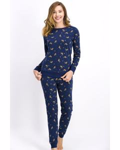 Wild Tigers Pajama Set