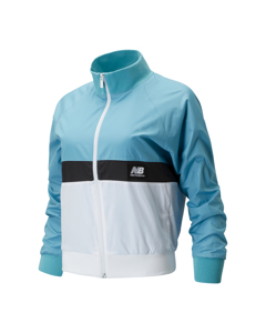 Nb Athletics Archive Run Wind Jacket Wax Blue