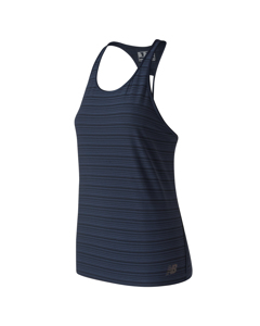 Q Speed Breathe Striped Tank Eclipse