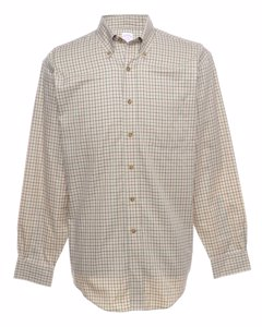 1990s Brooks Brothers Checked Shirt