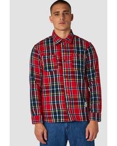 Juntoku Red Flannel Check