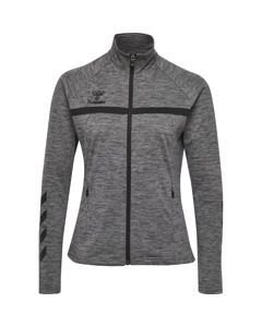 Hmljasmine Zip Jacket Dark Grey Melange