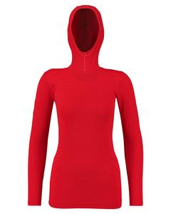 Aff Baselayer Wo Ls Hijab True Red