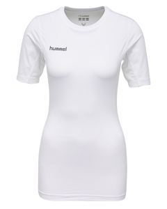 Hummel First Perf Ss Wo Jersey White