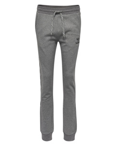 Hmlleisurely Pants Dark Grey Melange